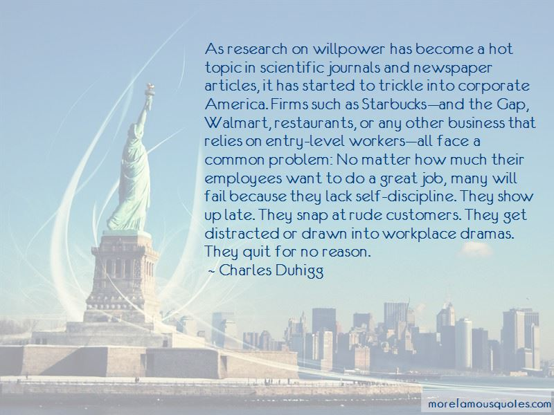 Quotes About Discipline In The Workplace