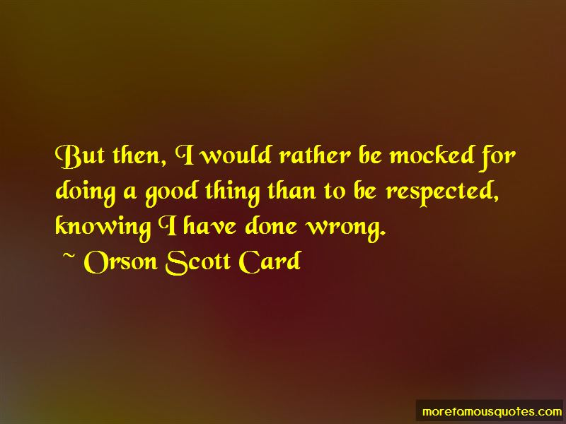 Quotes About Doing A Good Thing