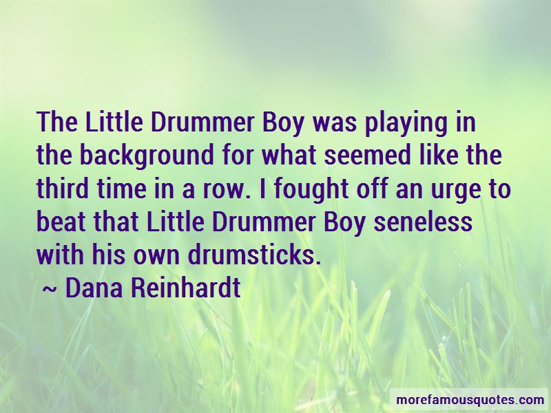 Drummer Boy Quotes Pictures 3