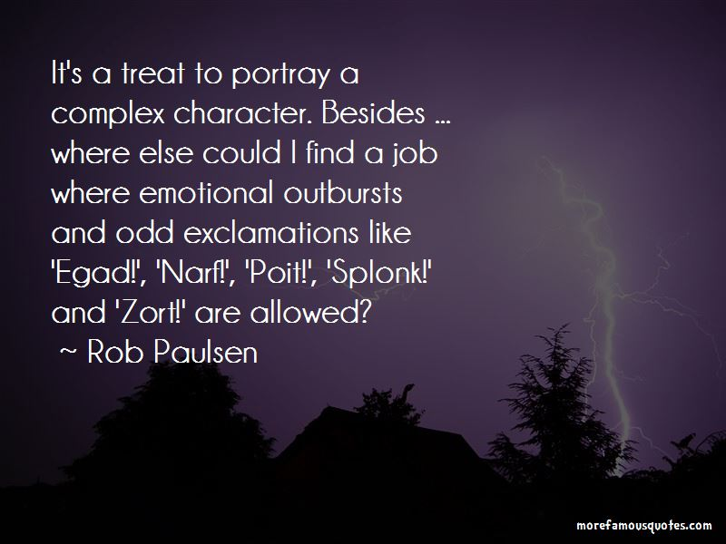 Quotes About Emotional Outbursts