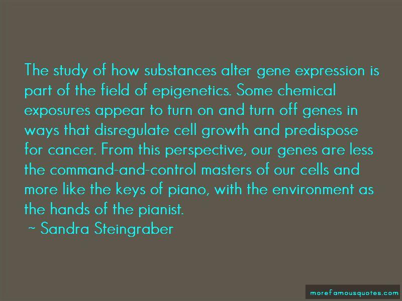Quotes About Epigenetics