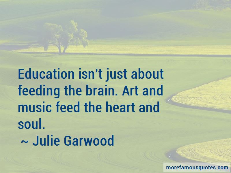 Quotes About Feeding The Brain