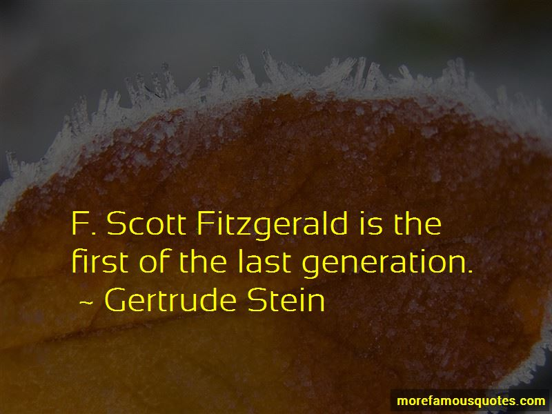 Fitzgerald Quotes Pictures 4