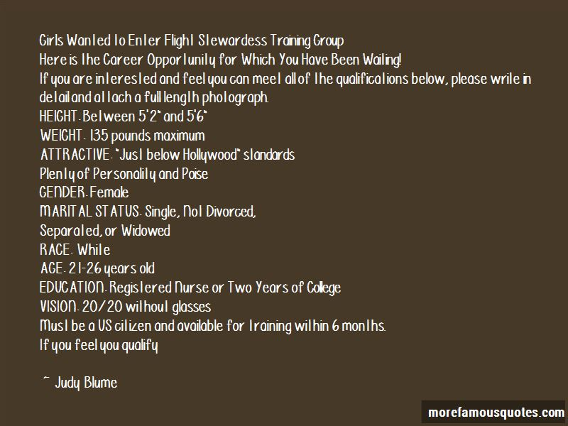Quotes About Flight Stewardess
