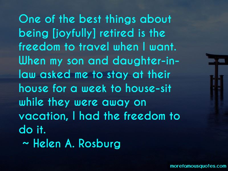 Quotes About Freedom To Travel