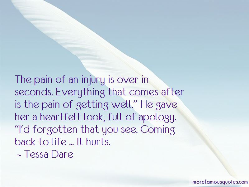 Quotes About Getting Back Up After An Injury