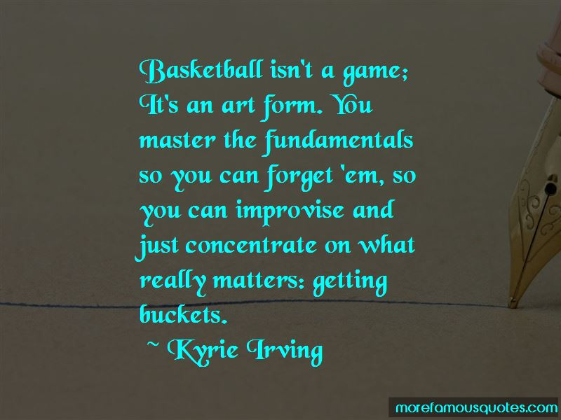 Quotes About Getting Buckets