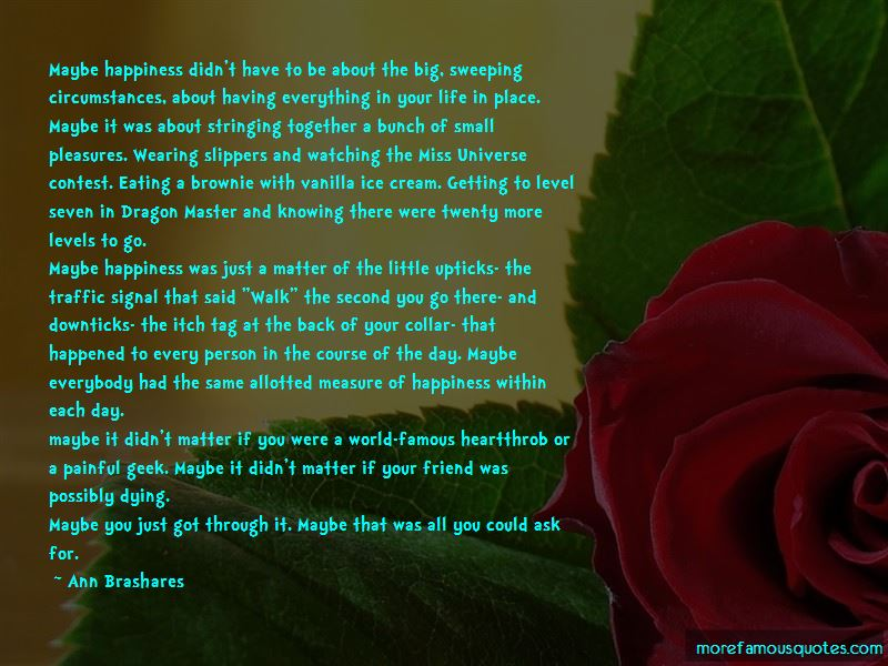 Quotes About Getting Through Life Together