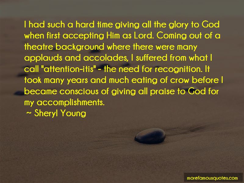 Quotes About Giving The Glory To God