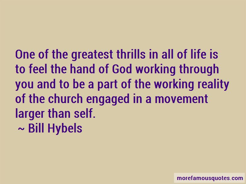 Quotes About God Working Through You