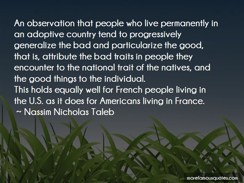 Quotes About Good And Bad Traits