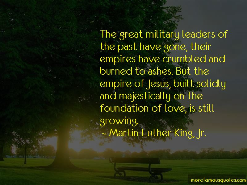 Quotes About Great Military Leaders