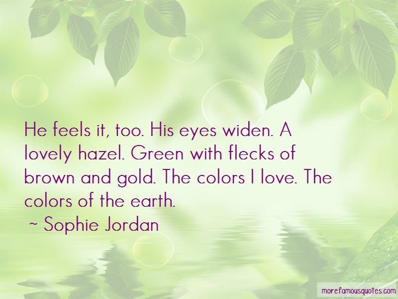 Quotes About Green Hazel Eyes: top 8 Green Hazel Eyes quotes ...
