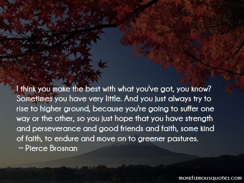 Quotes About Greener Pastures