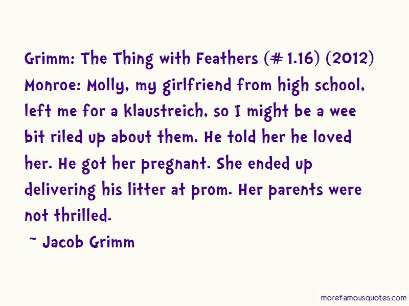 Quotes About Grimm