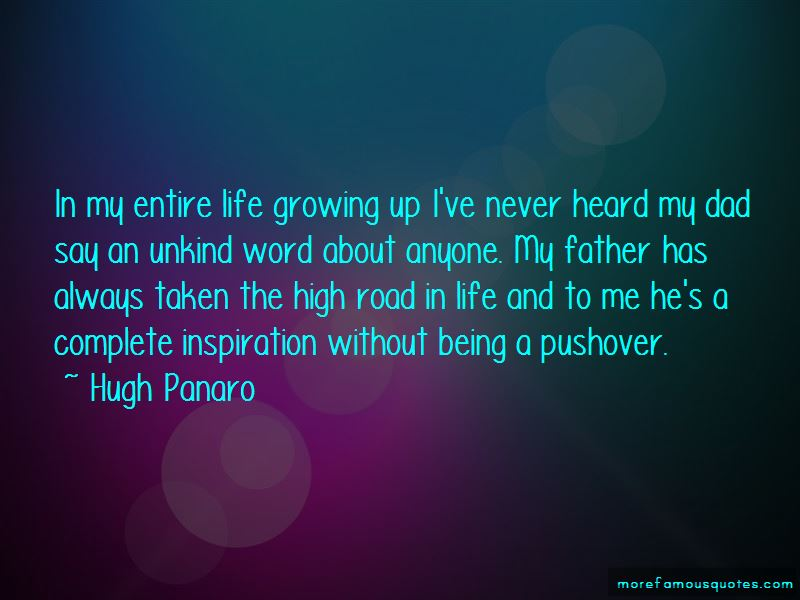 Quotes About Growing Up Without A Dad