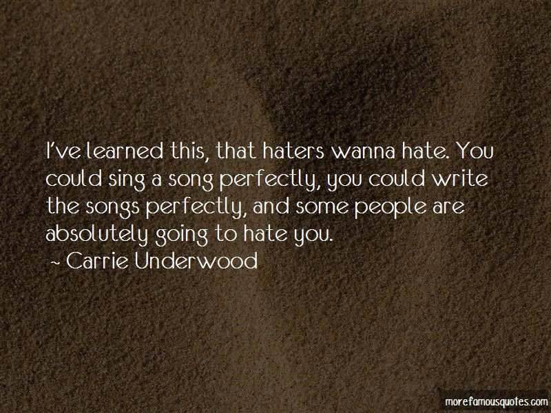 Quotes About Haters Going To Hate