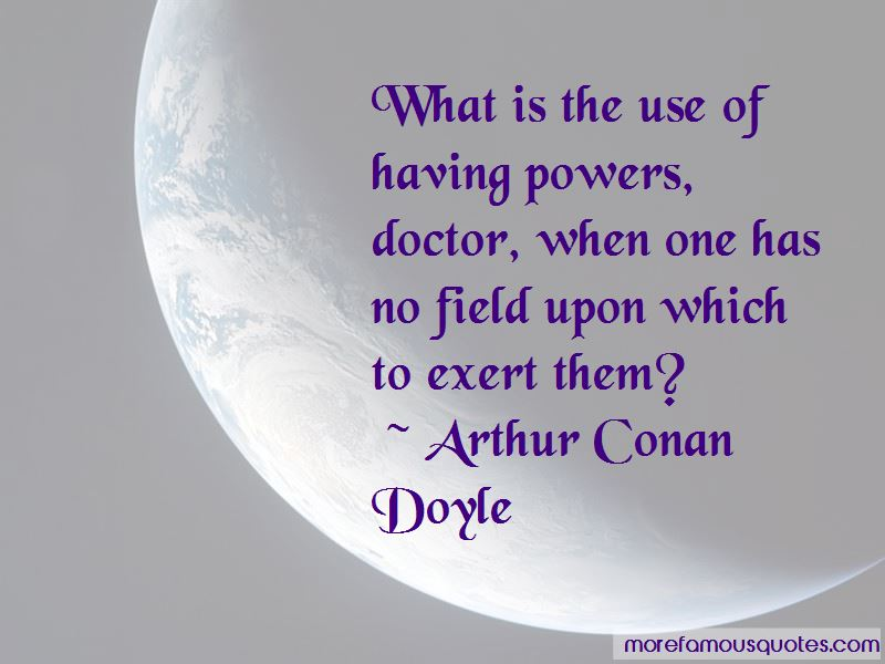 Quotes About Having Powers