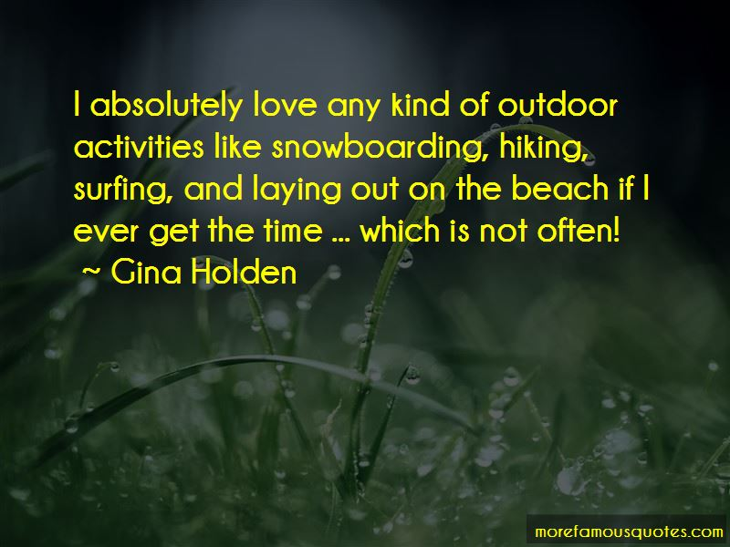 Quotes About Hiking And Love