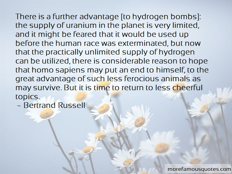 Hydrogen Bombs Quotes Pictures 2