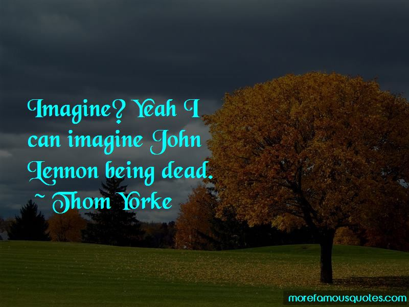 Quotes About Imagine By John Lennon