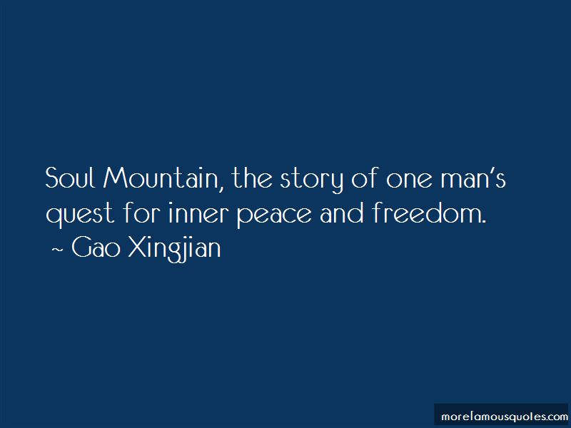 Inner Peace And Freedom Quotes Pictures 2