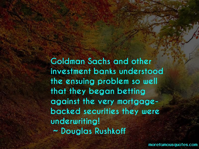 Quotes About Investment Banks