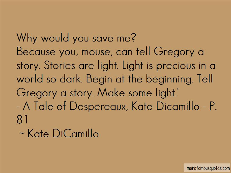 Quotes About Kate Dicamillo