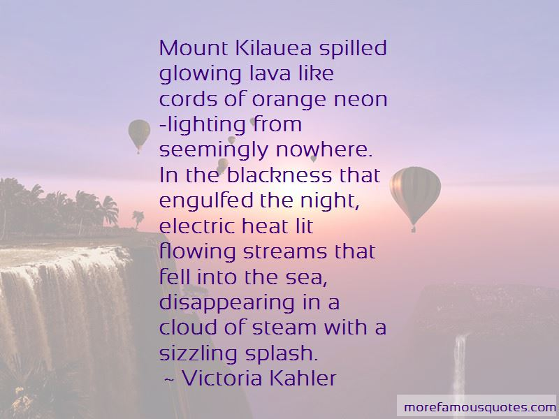 Quotes About Kilauea