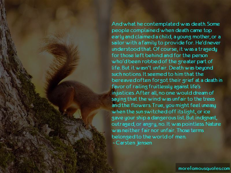Quotes About Life And Death And Nature