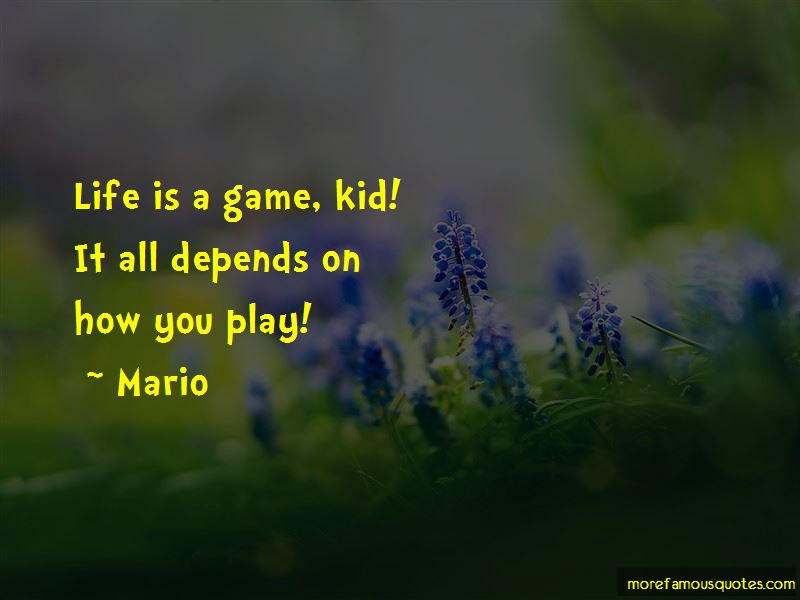 Life Is A Game Quotes Pictures 4