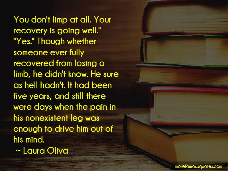 Quotes About Losing A Limb