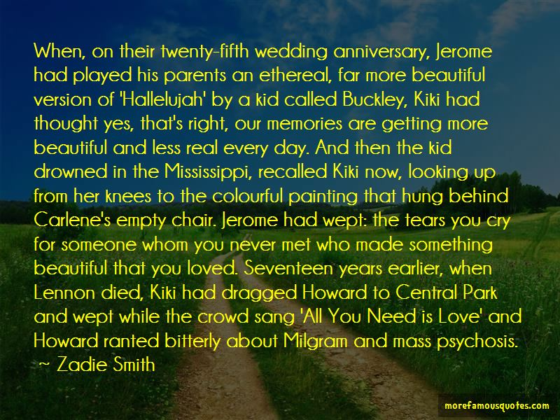 Quotes About Love For Parents Anniversary