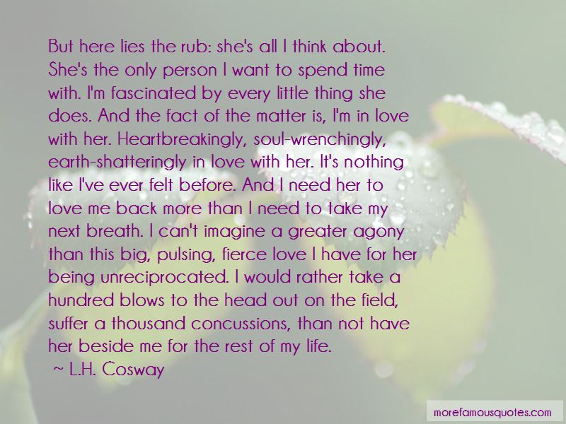 Quotes About Love Me Back