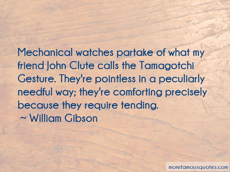 Quotes About Mechanical Watches