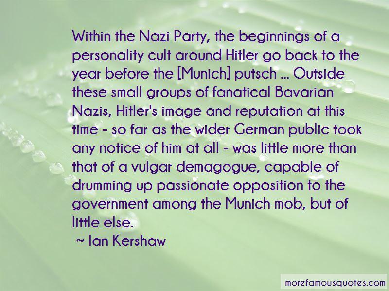 Quotes About Munich Putsch