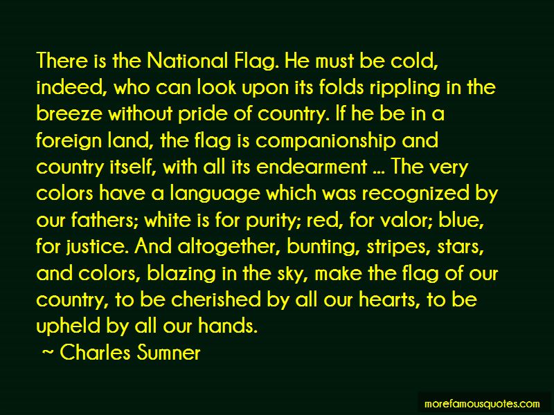Quotes About National Flag