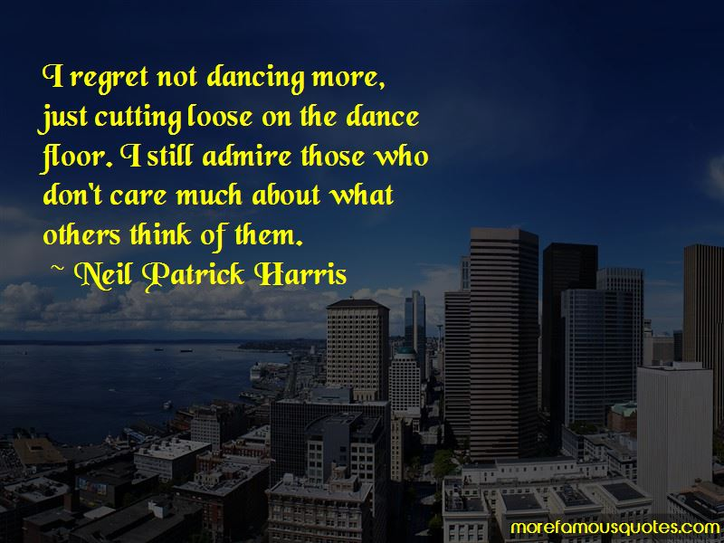 Not Dancing Quotes Pictures 2