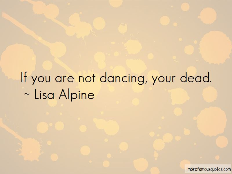 Quotes About Not Dancing