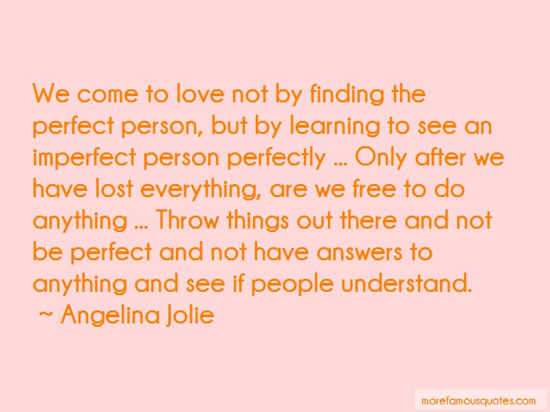 Quotes About Not Finding Answers