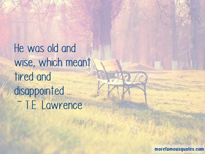 Quotes About Old And Wise