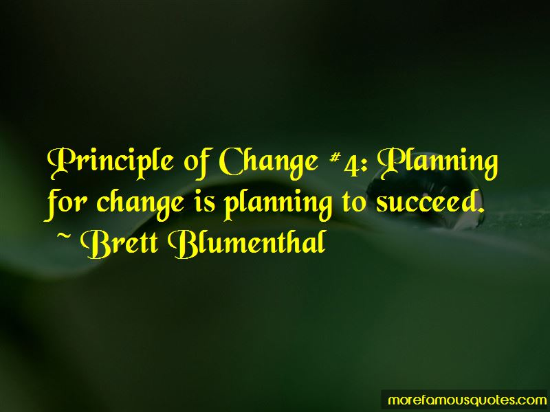 Quotes About Planning For Change