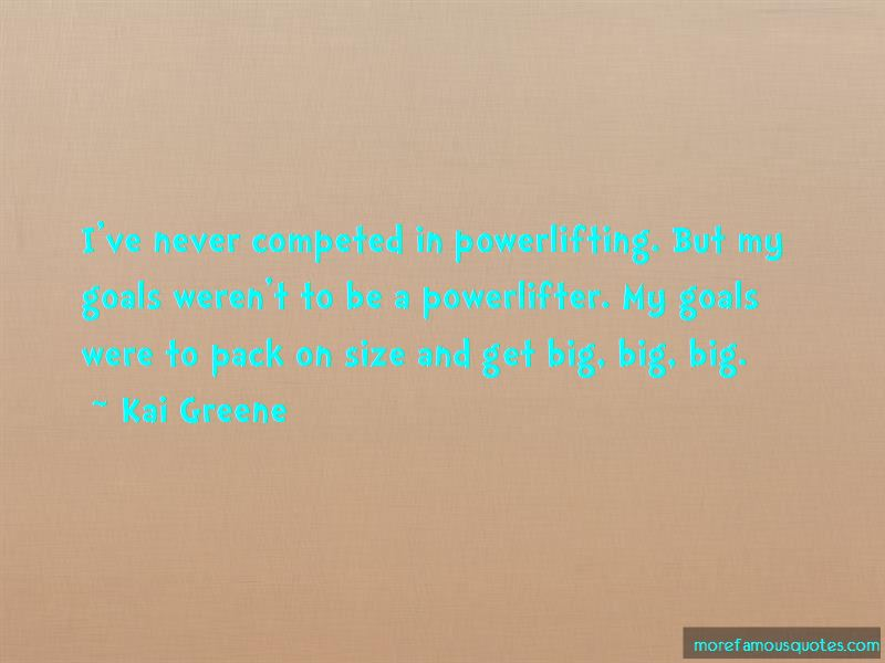 Quotes About Powerlifting