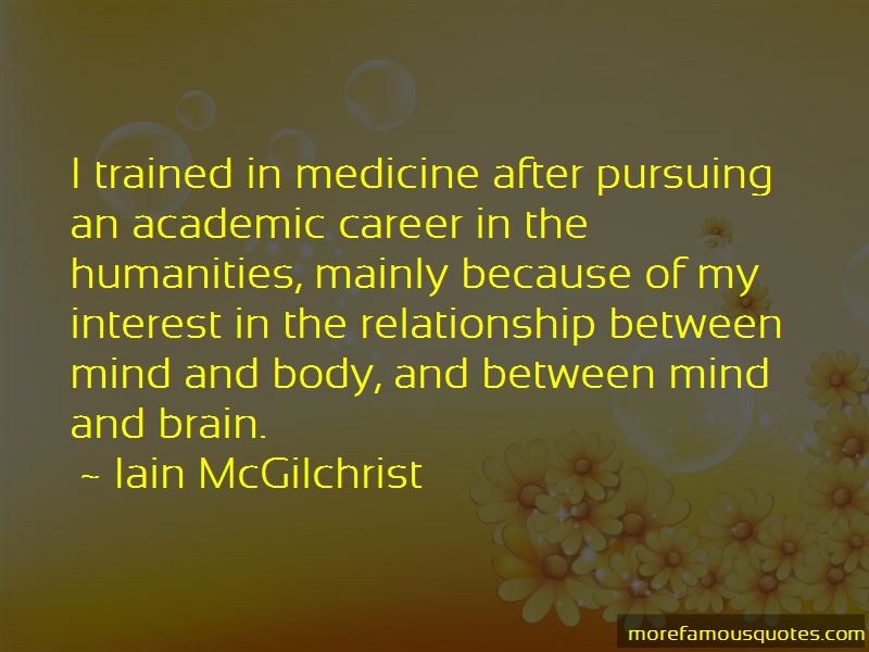 Quotes About Pursuing A Career In Medicine