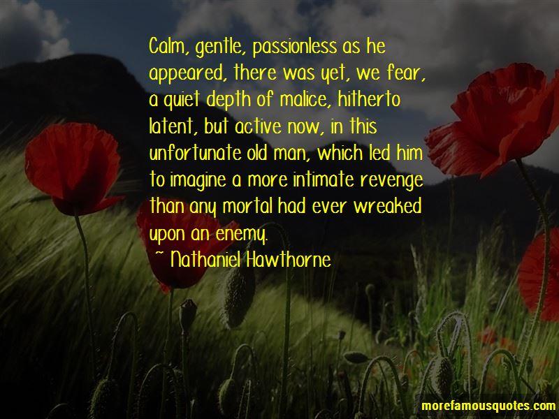 Quotes About Quiet Revenge