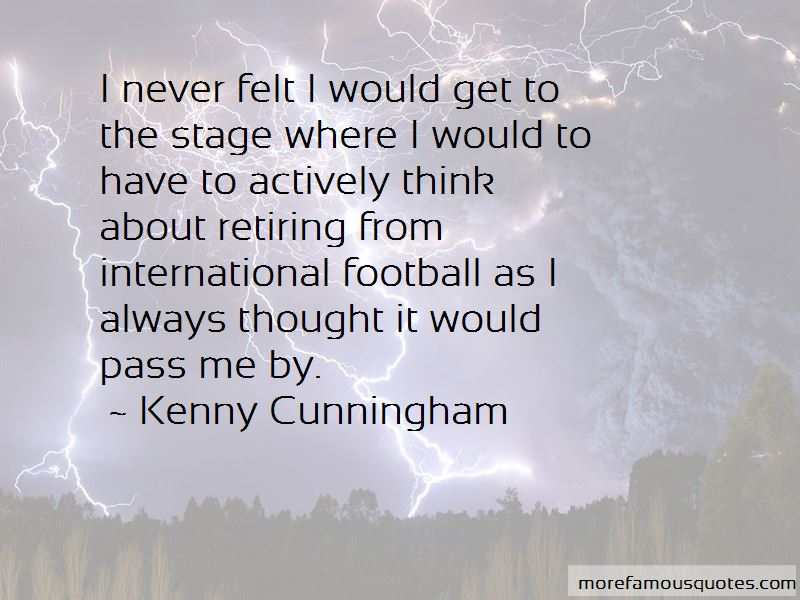 Retiring From Football Quotes Pictures 4