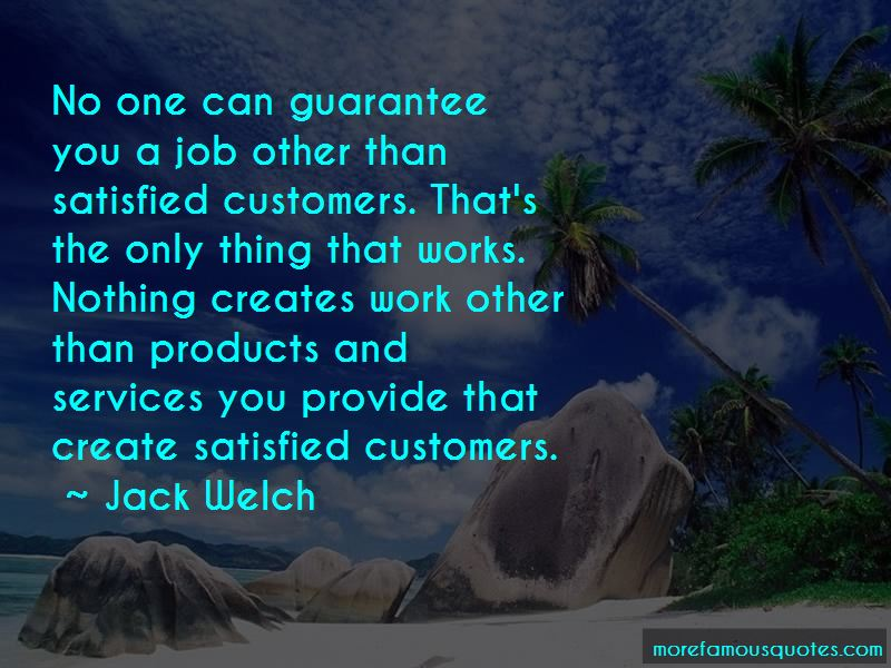 Quotes About Satisfied Customers