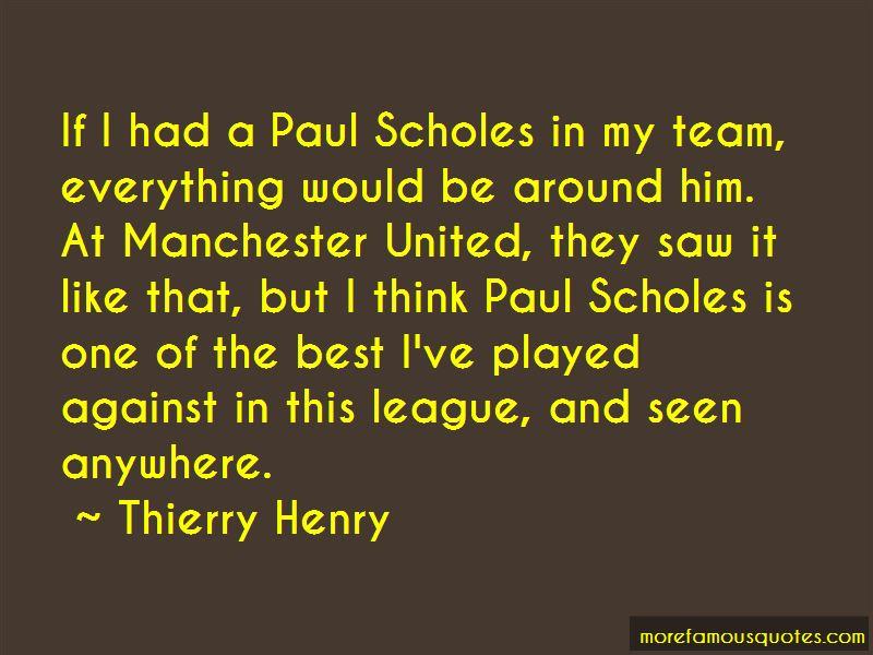 Quotes About Scholes