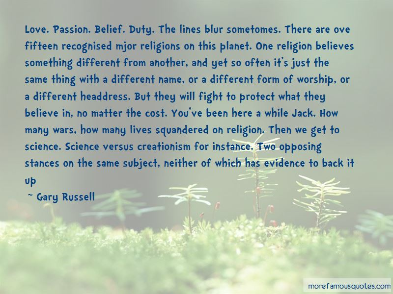 Quotes About Science Versus Religion