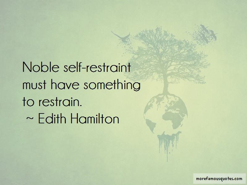 Self Restraint Quotes Pictures 2